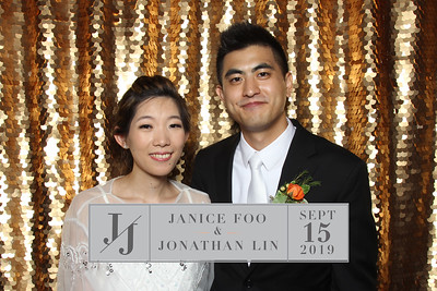 Janice & Jonathan's Wedding - 9/15/19