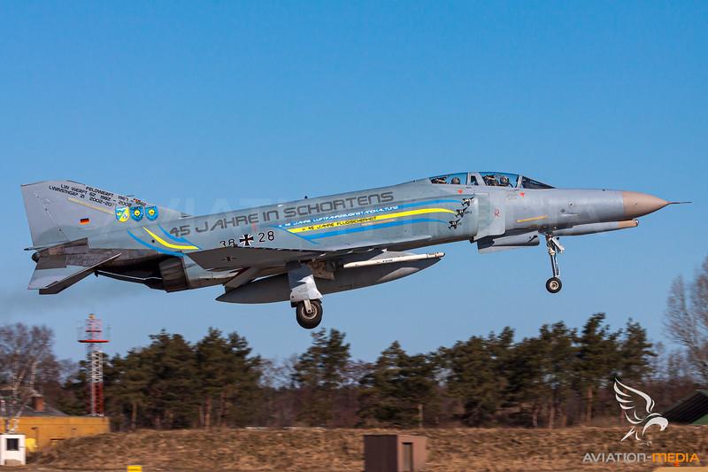 Germany - Air Force / McDonnell Douglas F-4F Phantom II - 38+28