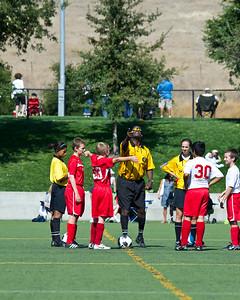 2011 Mustang Soccer - Team Strikers - Saddleback Tourn Game 2