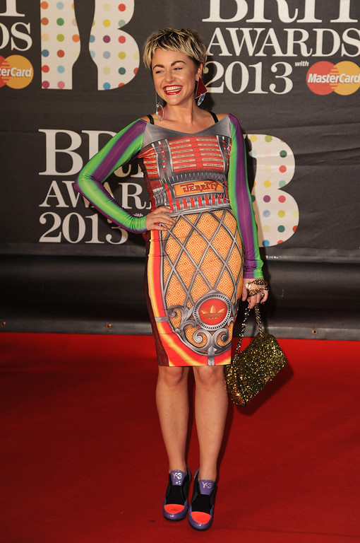 . Jaime Winstone attends the Brit Awards 2013 at the 02 Arena on February 20, 2013 in London, England.  (Photo by Eamonn McCormack/Getty Images)