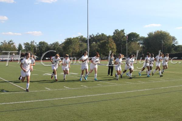 CHCA 2012 Girls JV Soccer vs Reading 09.10