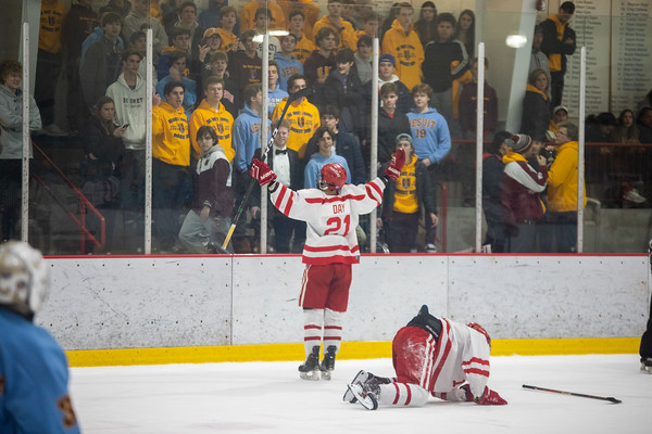 Ice Hockey: Kirkwood vs De Smet