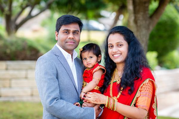 Aaruhi's 1st Birthday