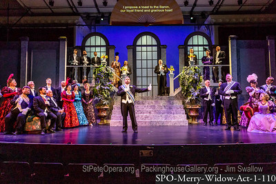 The Merry Widow Act 1