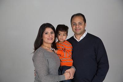 Deepak & Preeti Family portraits
