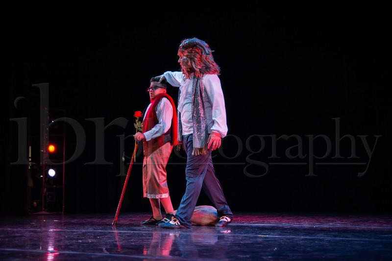 Beauty and the Beast Thursday rehearsal