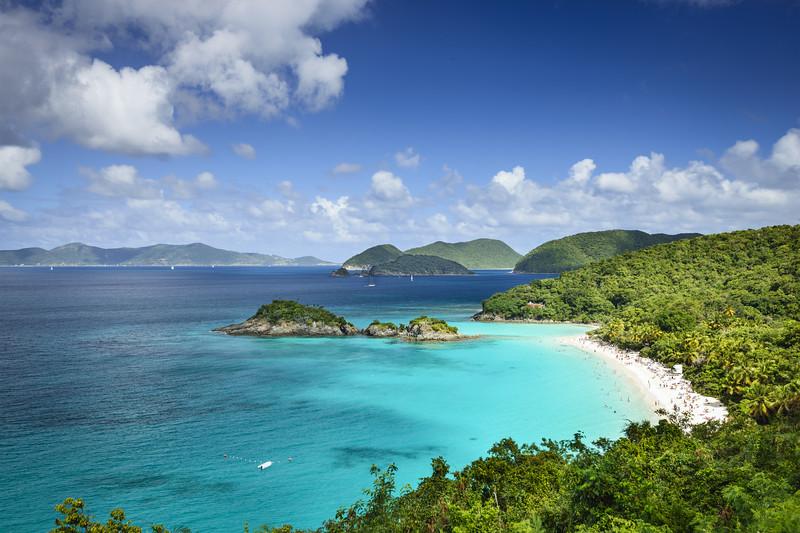 St. John, US Virgin Islands at Trunk Bay