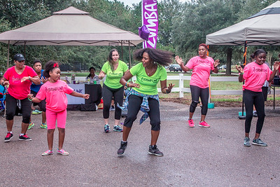 Ivy's Second Line Fitness Company Event  Sep 30, 2017