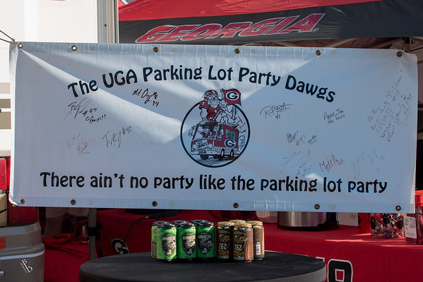 UGA Parking Lot Party Dawgs