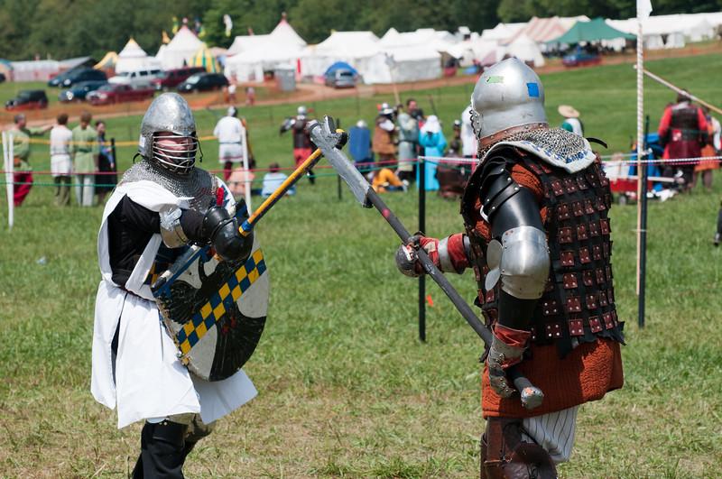 Polearm Versus Sword