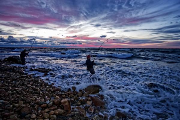 Block Island Surf Fishing