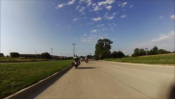 2012 6/17 Bo's Breakfast Ride to CJs Video