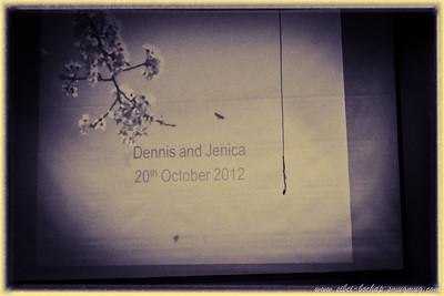Jenica & Dennis (20 October 2012)