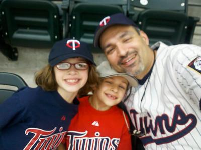 2010 Aug - Twins Game