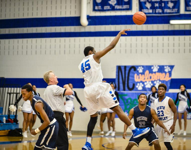 Basketball Boys Varsity vs  Lamar 01-21-14-4