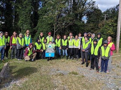 10.21.18 Sawmill Branch Cleanup with the Beacon Home Team