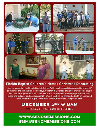FBCH Decorating 2016