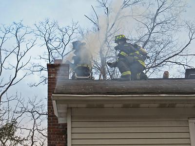 3-13-11 Chimney Fire, Dogwood Road