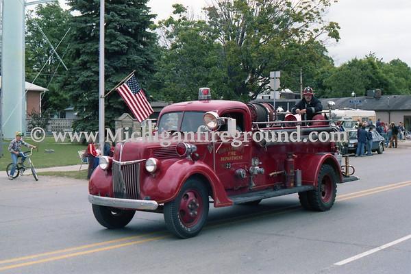 6/23/79 - Williamston Jubilee parade & waterball