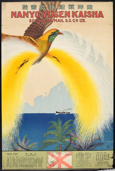 Nan'yō Yūsen Kabushiki Kaisha = Nanyo Yusen Kaisha = South Sea Mail S. S. Co., Ltd. [Bird]