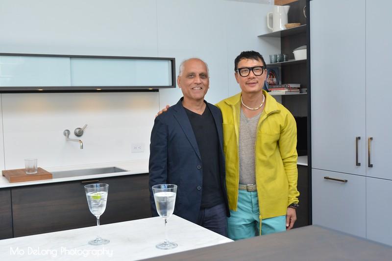 Zahid Sardar and Francis Mill