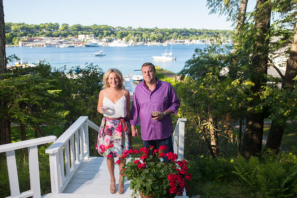 Maddie + Matt ~ Harbor Point Association Engagement Harbor Springs, Michigan Photography