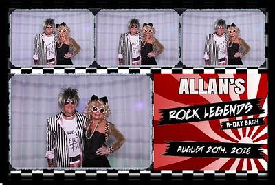 8/20/16 Rock Birthday Party