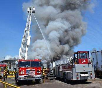 Commercial Building Fire - Broadway Street Cheektowaga, NY - 5/1/21