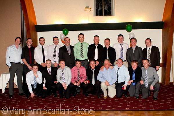 Naomh Padraig Hurling Club and Clan na Gael Ladies Football Club's Celebration Dinner Dance