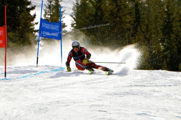 2-6-13 Utah FISU GS at Loveland - Mens Run #1