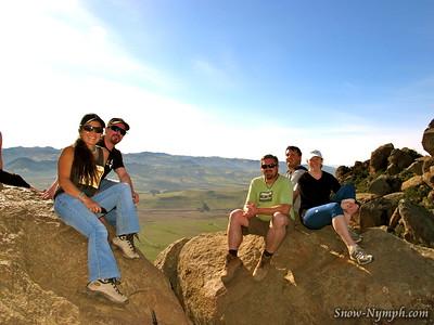2012 (Jan 29) Bishops Peak, San Luis Obispo and Alapay Cellars, Avila Beach  (NEW PEAK)