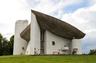 Notre Dame du Haut, Ronchamp, France (Le Corbusier)