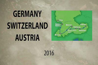 Germany - Switzerland - Austria - 2016