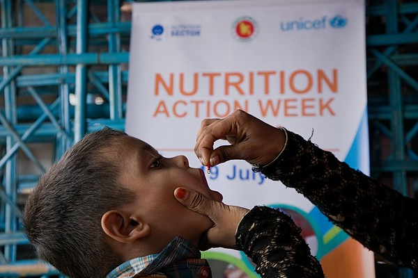 Nutrition Action Week in Refugee Camp - July 2018
