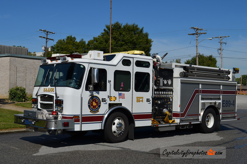 York Area United Fire & Rescue Engine 89-4: 2003 E-One Typhoon 1250/750