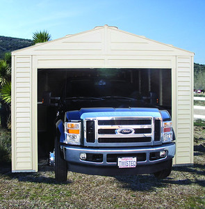 Vinyl Barn Garage