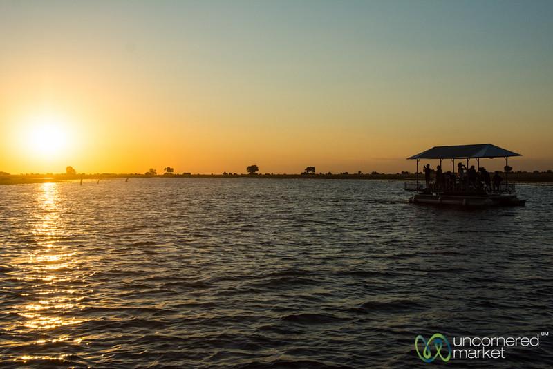 Sunset Boat Ride - Chobe River, Botswana