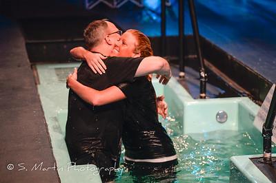 2015-01-25 - 9 a.m. Weekend Service / Baptism