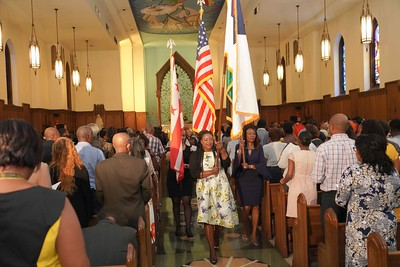 Jamaica 57 Independence Church Service Celebration at Howard University