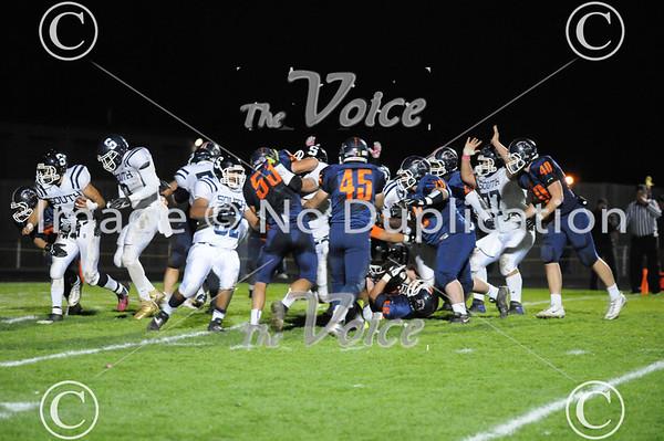 Plainfield South High School Football at Oswego High School 10-18-13