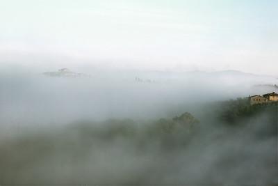 Tuscan mists (colour) 2013