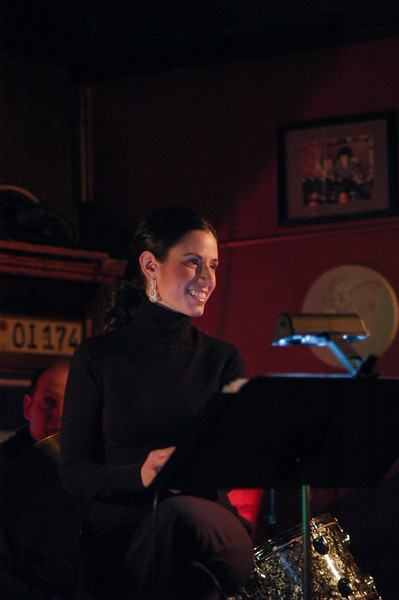 Megan Gebert sings at Clifton Pizza