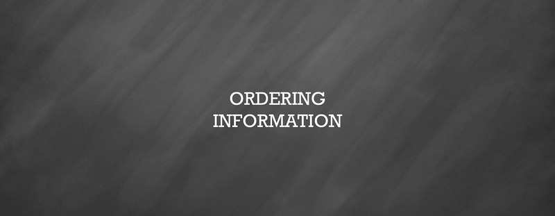 Coupon/Ordering Info