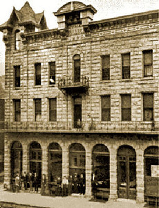 After the hardware store burned down in 1894, Bullock put together a scheme to build a new hotel in Deadwood.  Using land that he and Star had owned, he brought together some well-known and successful investors to fund the project.  W. W. Marsh and Fred Evans (whose wealthy family had hotels in Hot Springs and Omaha) led the initiative and funded construction of the building.  Ironically, although Bullock had little to do with the project, it carried his name.  The Bullock Hotel was a three story, 64-room luxury hotel with steam heat and indoor bathrooms on each floor.  It continues to operate to this day.