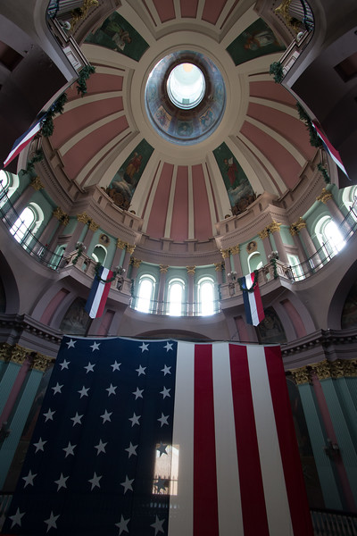 inside The Old Courthouse, St. Louis
