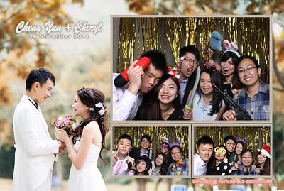 Cheng Yun + Cheryl Photobooth Album
