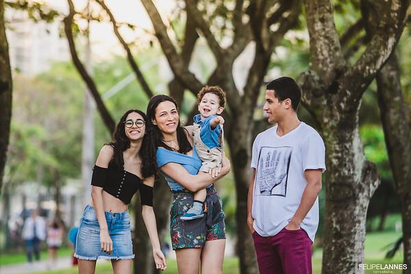 Ensaio Família: Dani Medeiros + 3