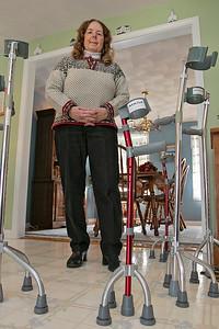 Ataxia Balance Crutches, Jan. 17, 2020