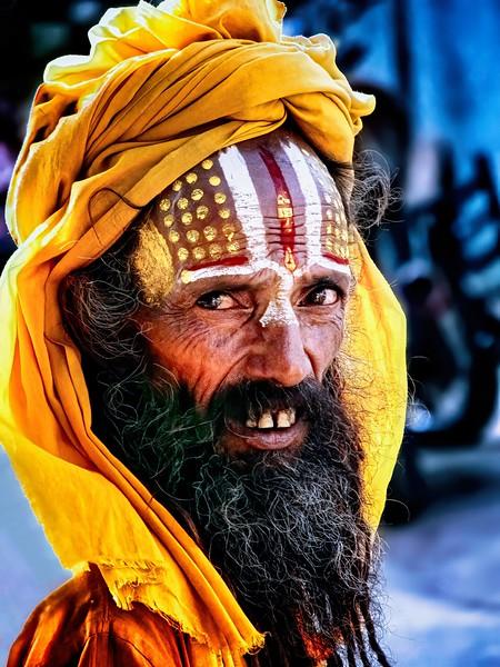 Swami, Varanasi India