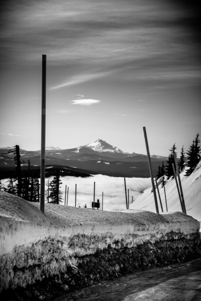 through the clouds and over the hill week 6: up to Timberline